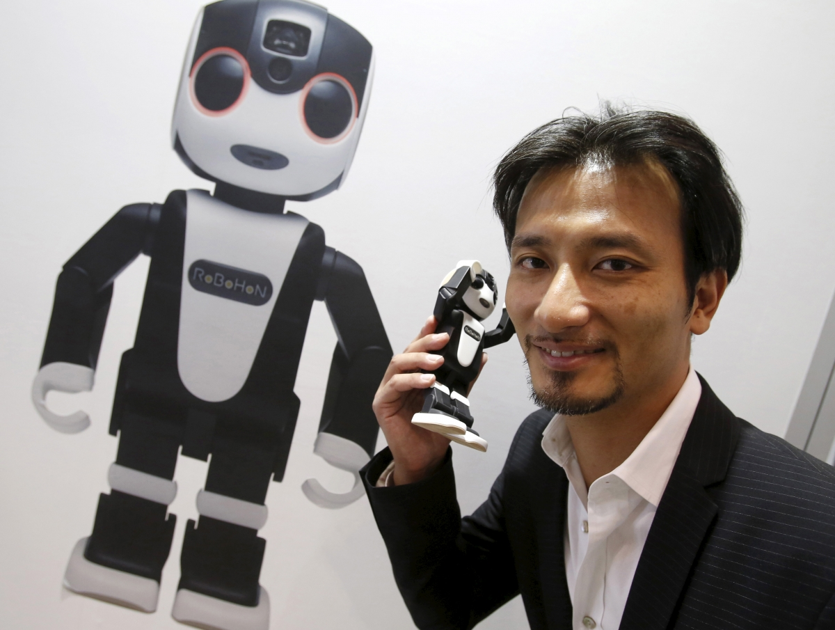 Sharp launches RoBoHon robot companion smartphone