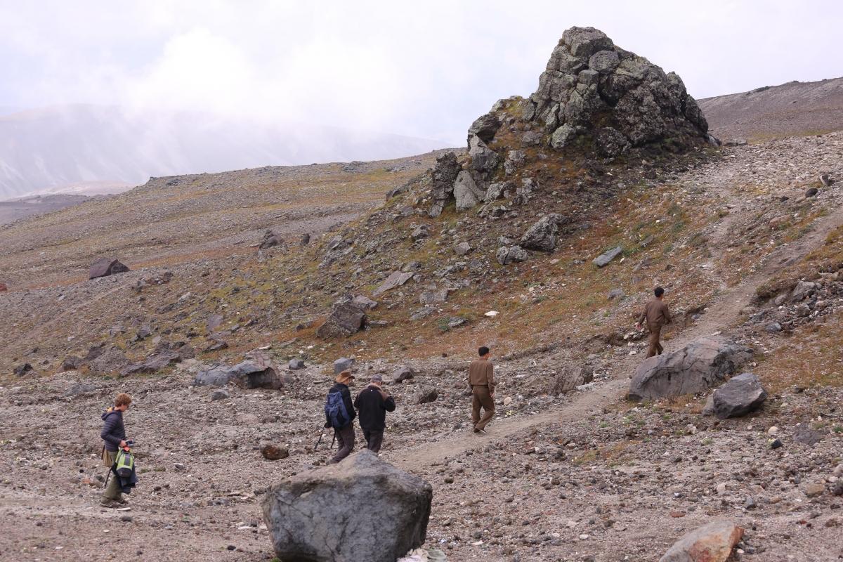 mount paektu north korea volcano