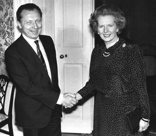 Delors and Thatcher