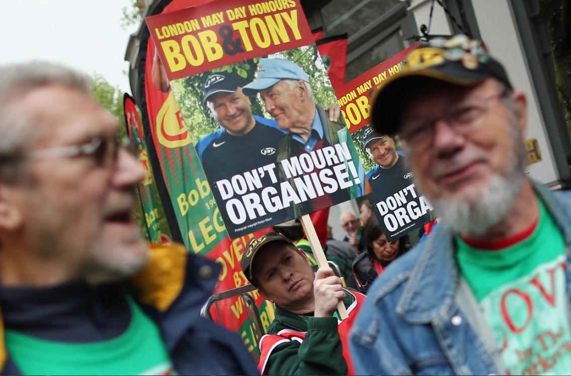 Activists remember Bob Crow and Tony Benn