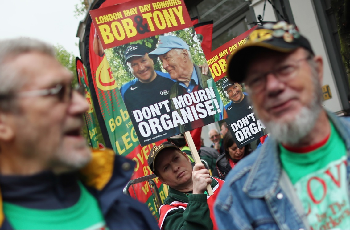 Activists remember Bob Crow and Tony Benn