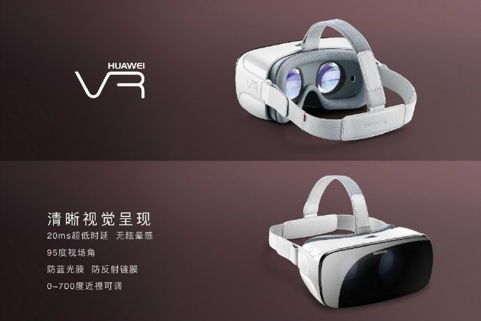 Huawei VR leaked on Weivo