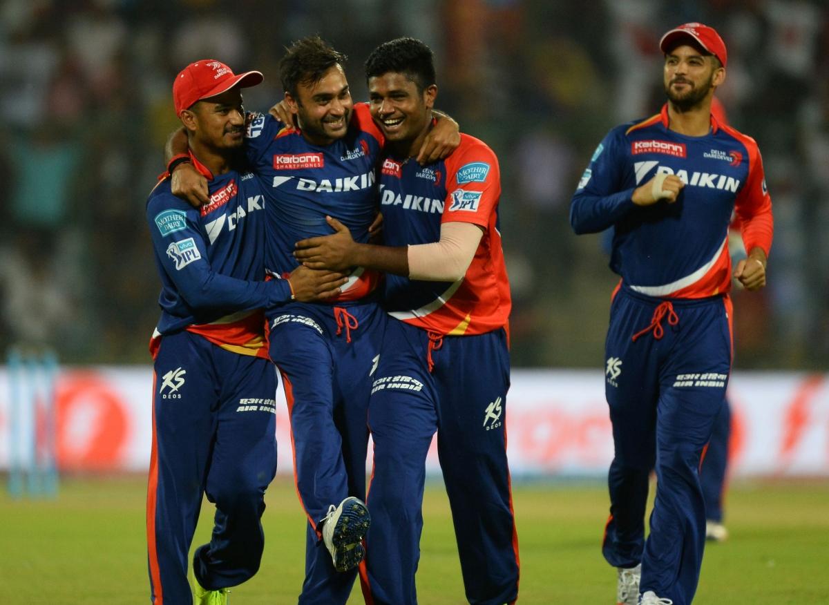 Amit Mishra celebrates his success