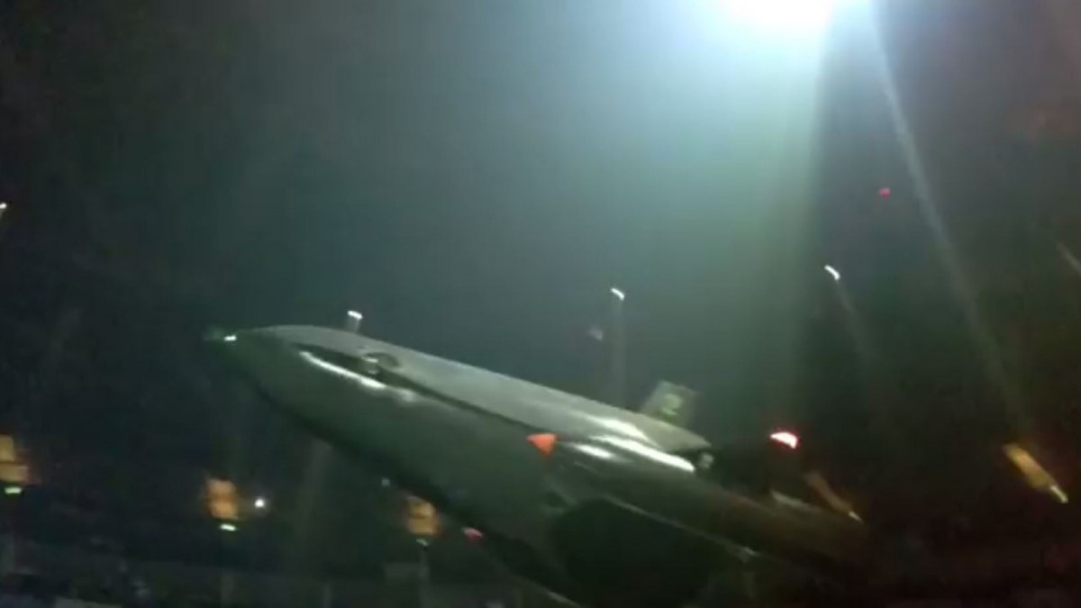 Huge drone breaks over London crowd during Muse gig at the O2