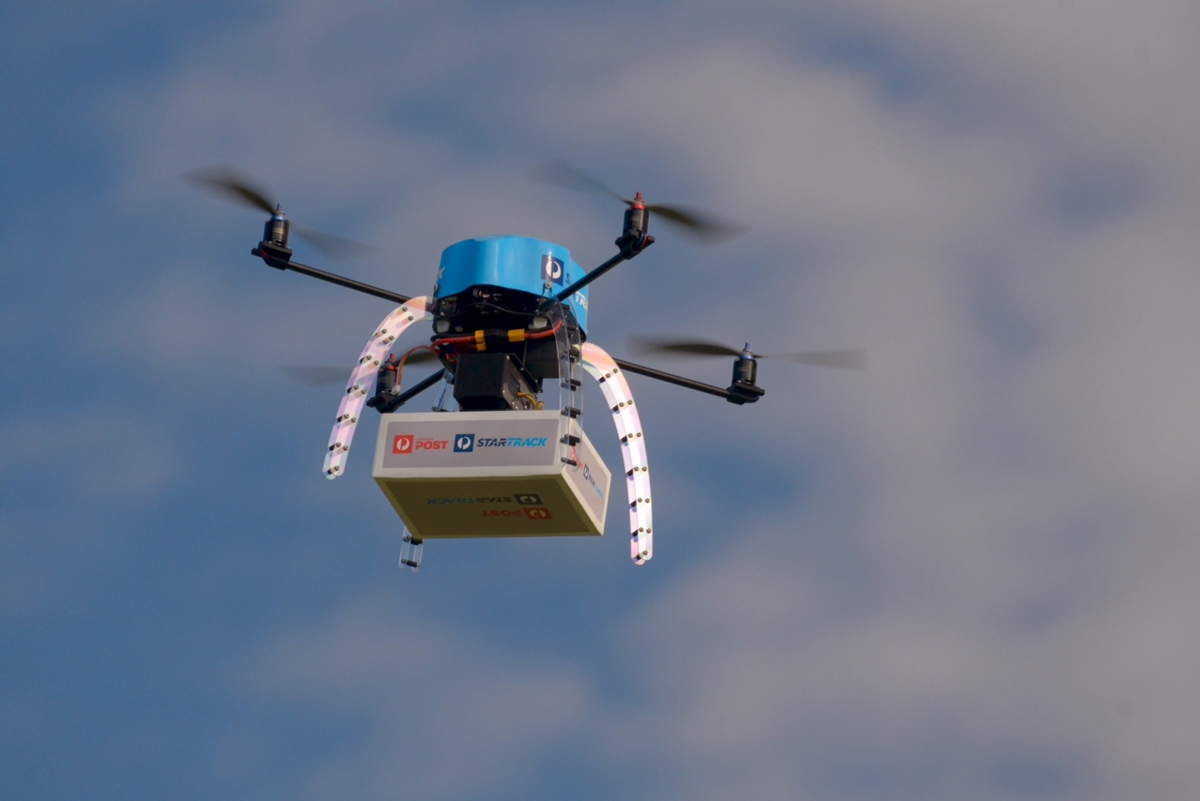 Drones to be trialled by Australia Post for delivering parcels in Melbourne
