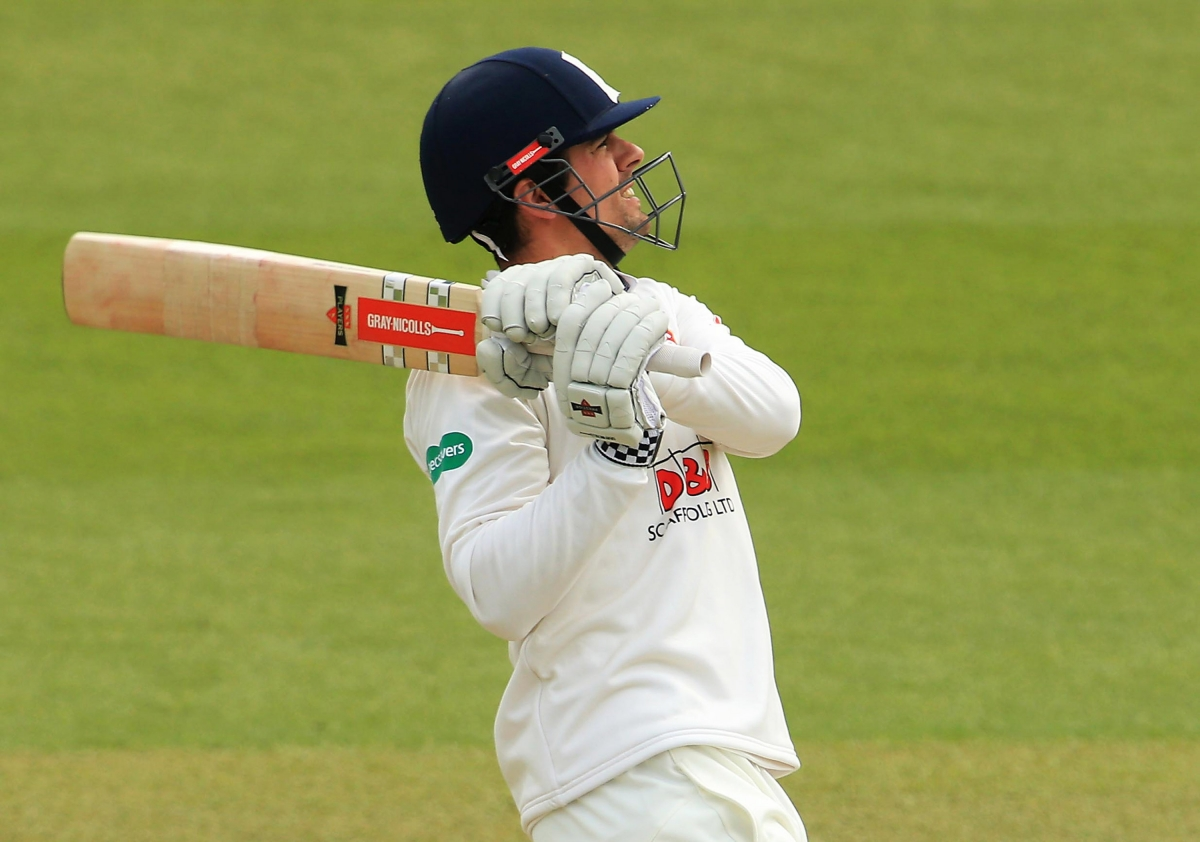 Alastair Cook in action for Essex