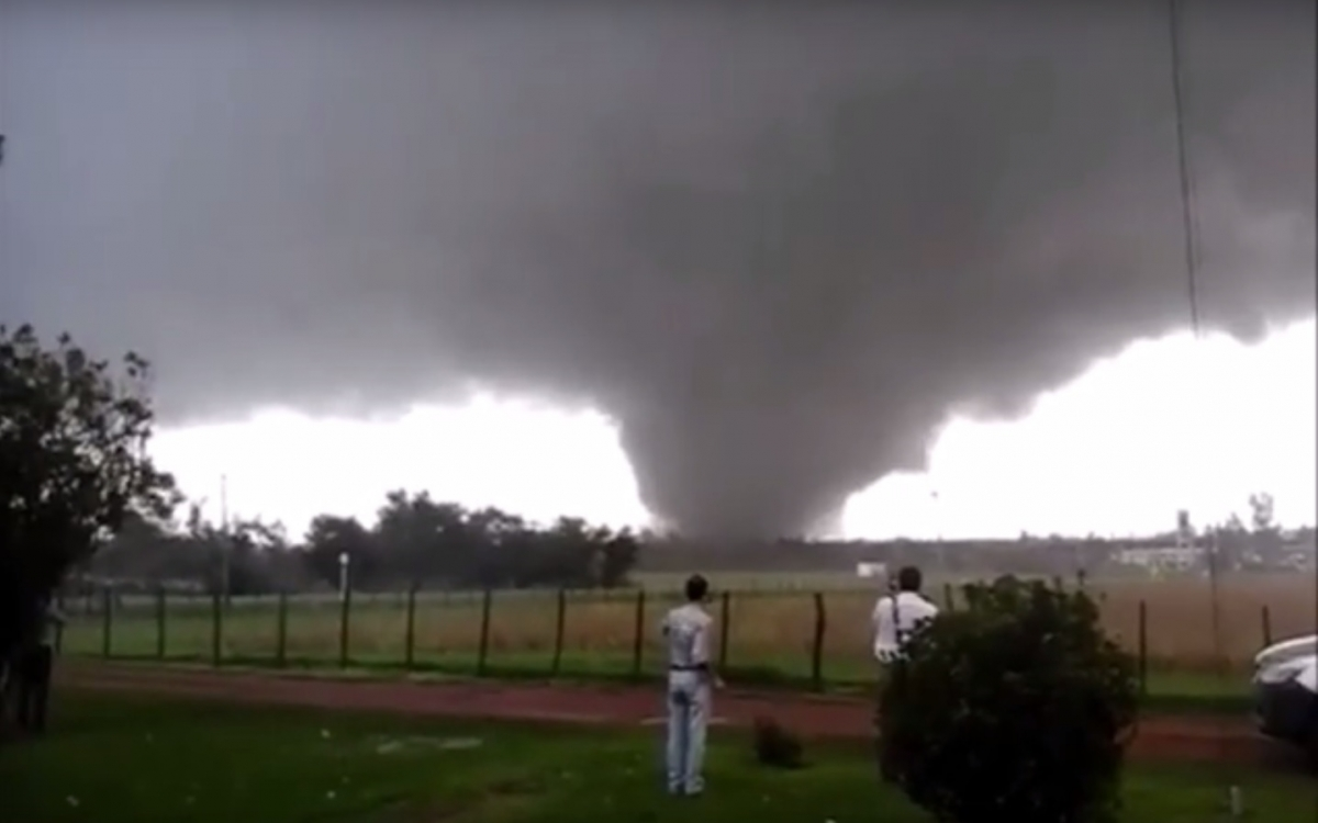Uruguay tornado