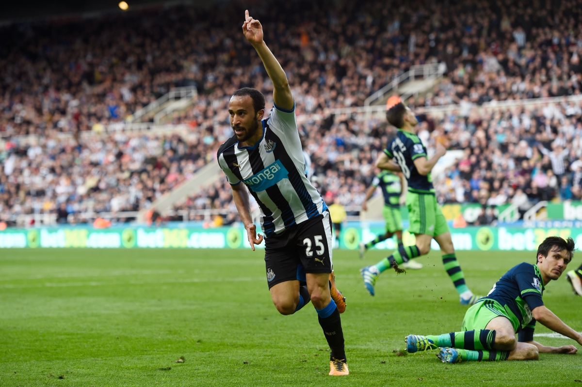 Andros Townsend added a late goal