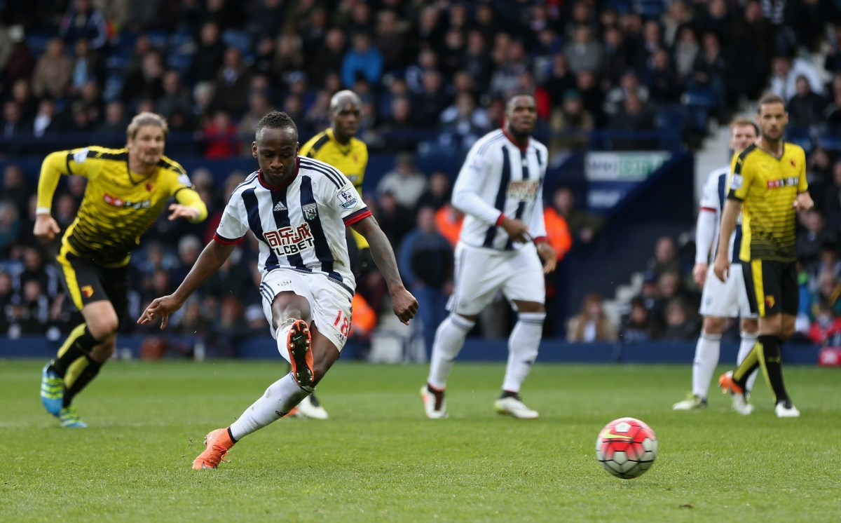 Saido Berahino had two penalties saved