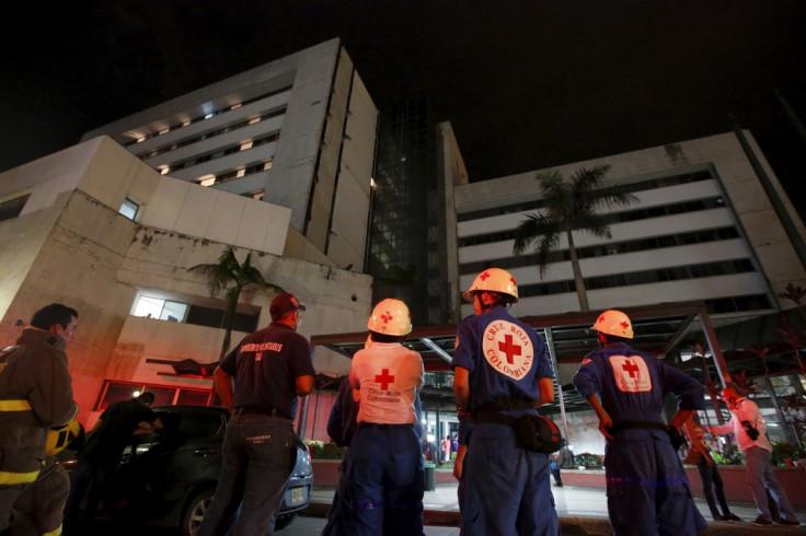 Ecuador earthquake 17 April clinic