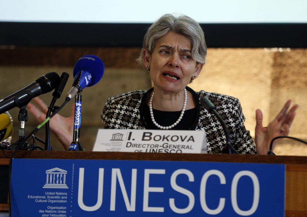 UNESCO Director General Irina Bokova
