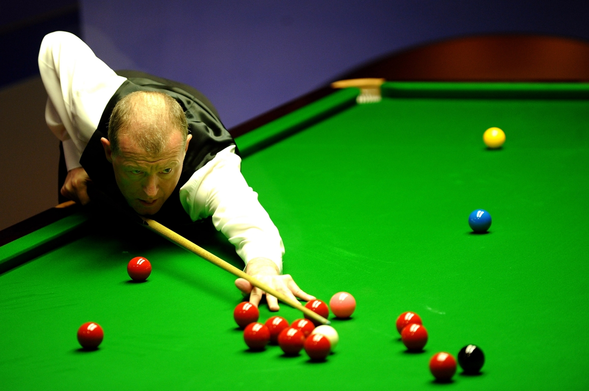 Snooker legend, Steve Davis