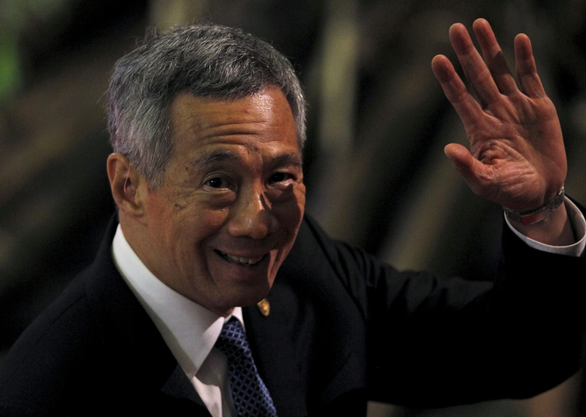 Singapore PM Lee Hsien Loong in Israel