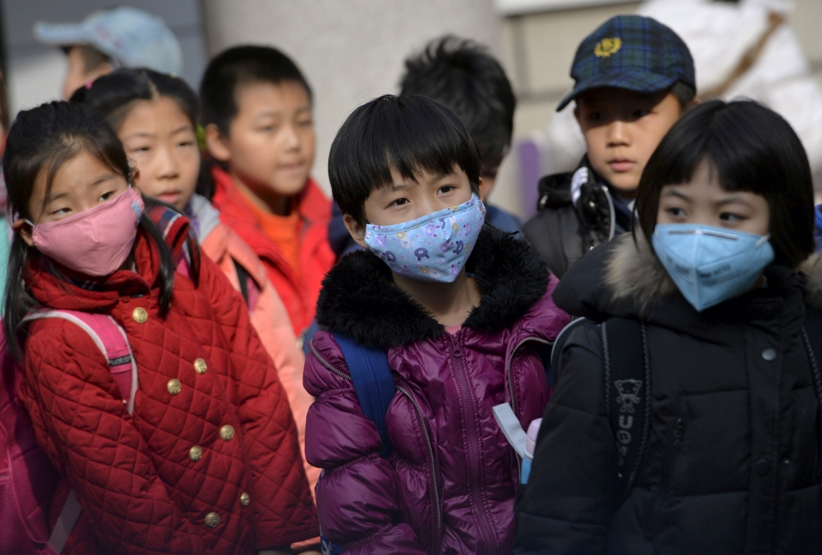 Toxic air contamination China