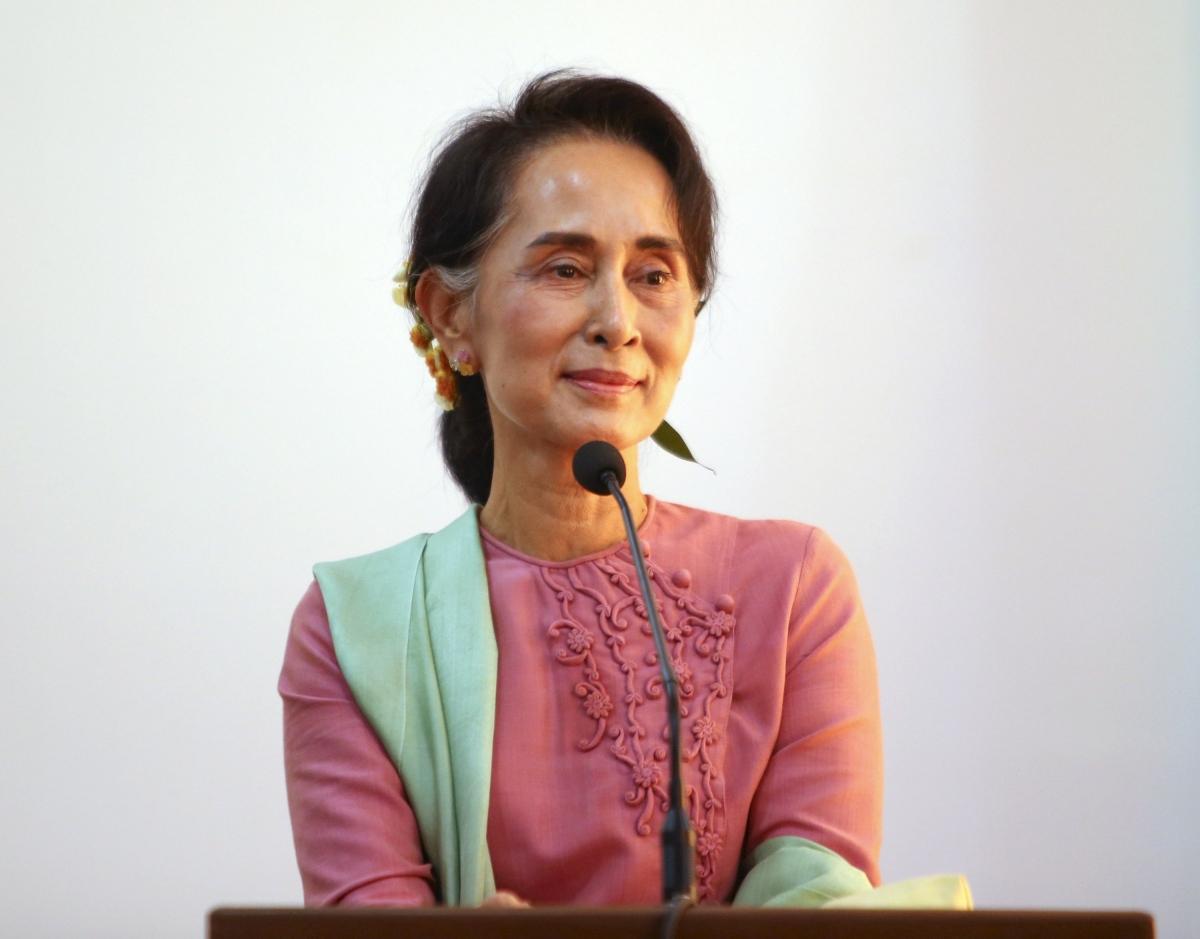 Myanmar Aung San Suu Kyi