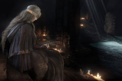Dark Souls 3 Firelink Shrine Fire Keeper