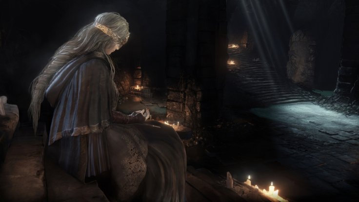 Dark Souls 3 Firelink Shrine Fire Keeper