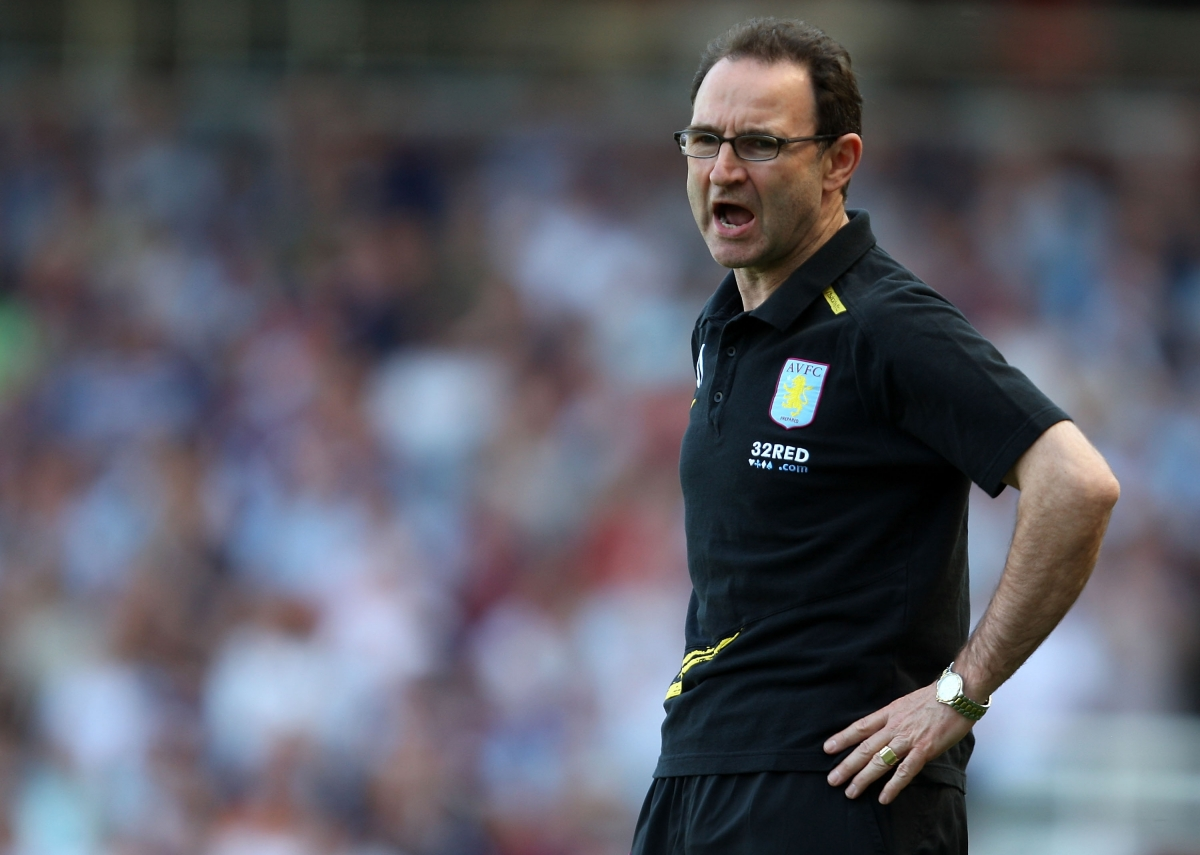 Martin O'Neill spent heavily while at Villa