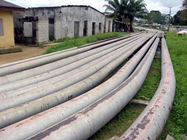 Oil pipelines in Nigeria