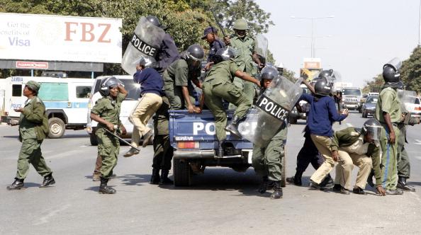 Zambian police