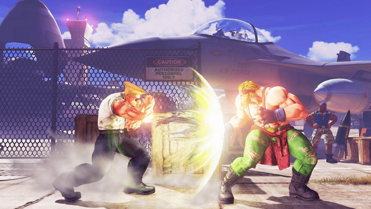 Street Fighter 5 Capcom Reveals Guile Rage Quit