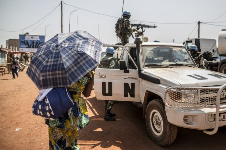 MINUSCA Peacekeepers in CAR