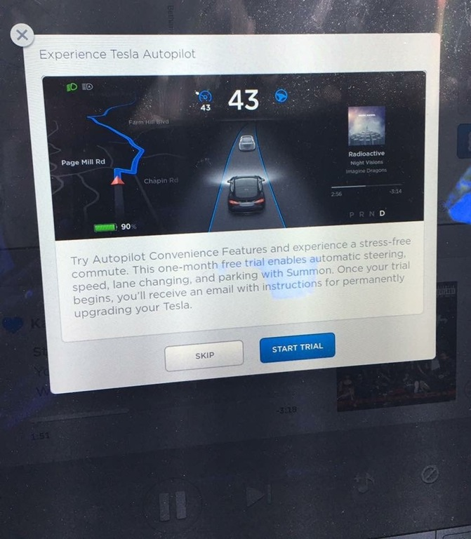 Tesla Autopilot trial now free for all customers