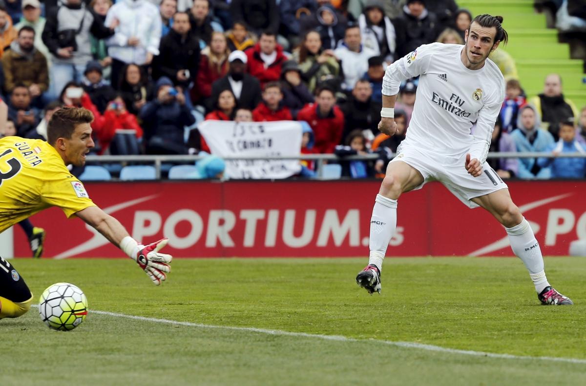 Vicente Guaita & Gareth Bale