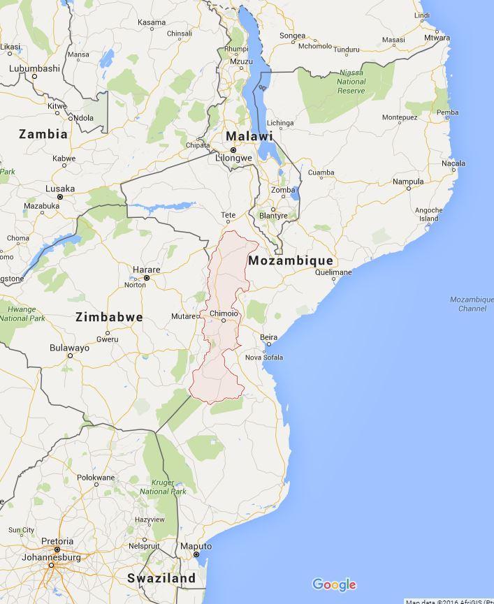 Manica province in Mozambique