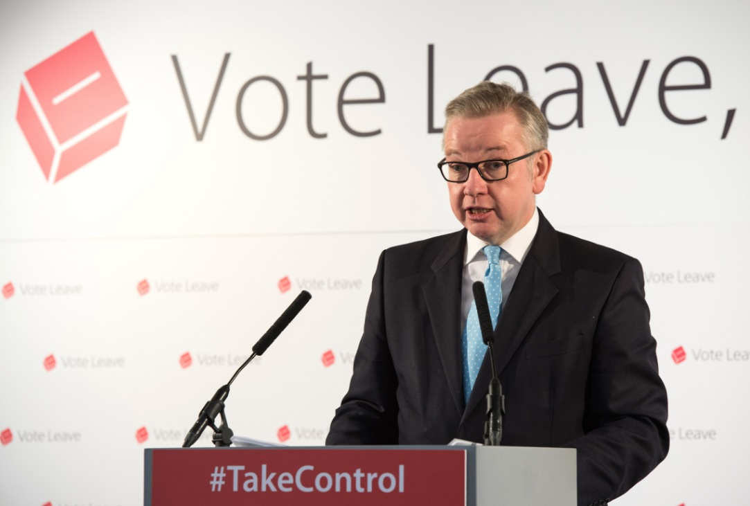 Michael Gove, Vote Leave campaigner