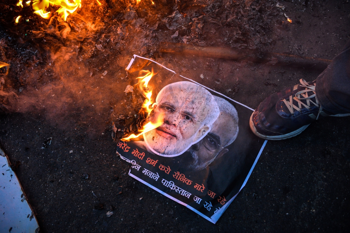 Protest against Narendra Modi