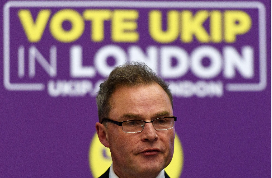 Peter Whittle, Ukip's Mayor of London candidate