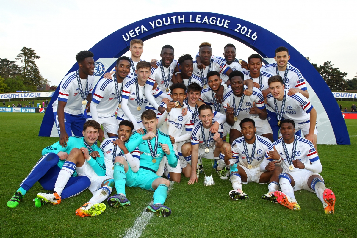 Chelsea retained the Uefa Youth League