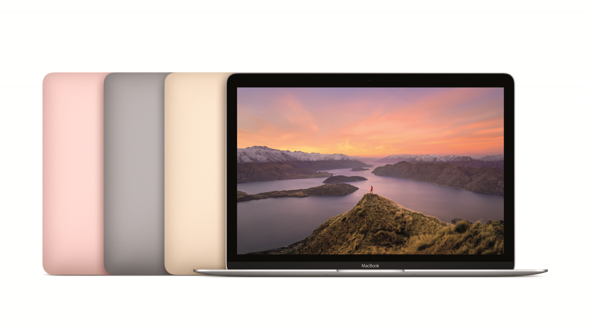 MacBook 2016 range