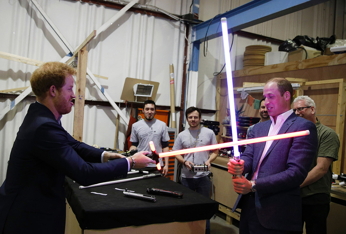 Prince Harry William Star Wars