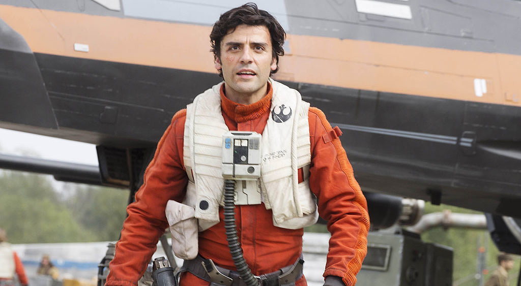 Oscar Isaac in Star Wars 7