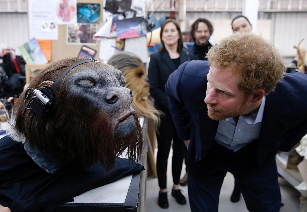 Prince Harry William Star Wars