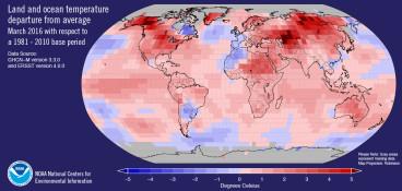 March temperature record breaker