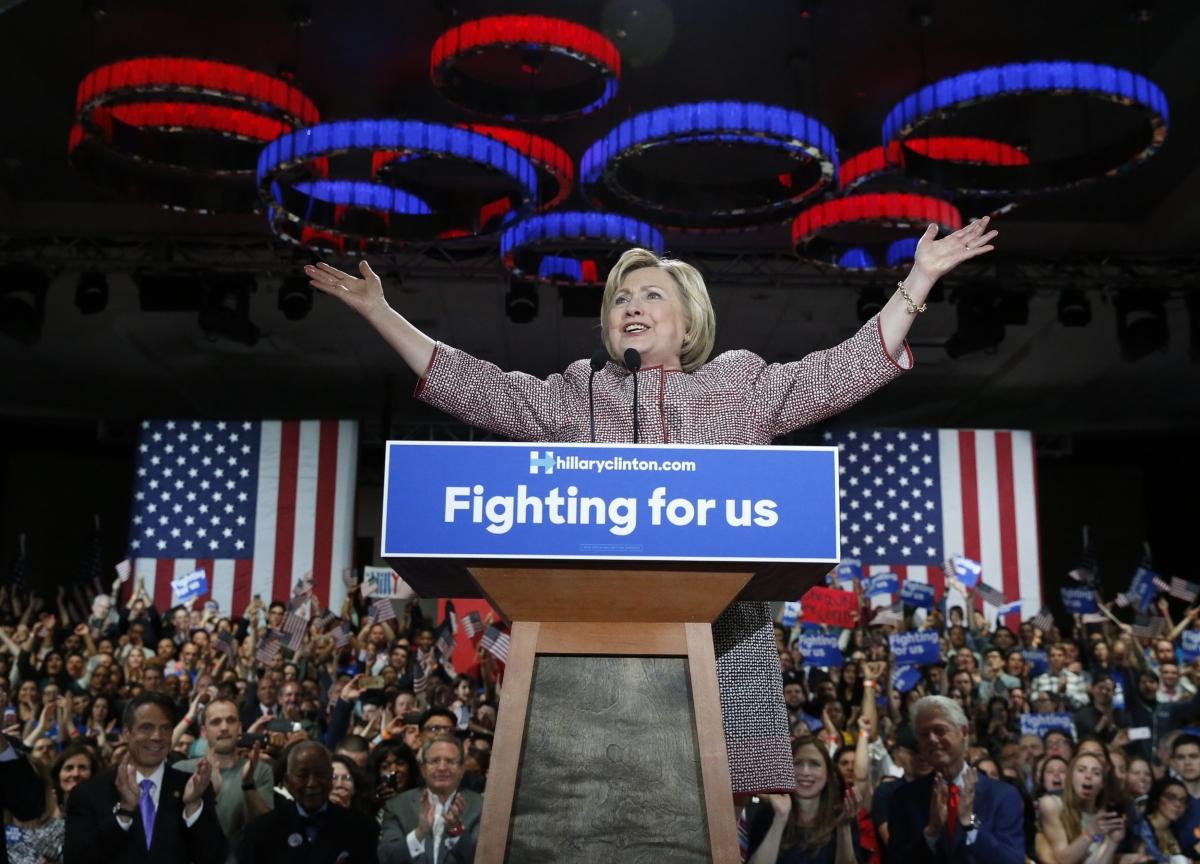 Hillary Clinton New York Primary