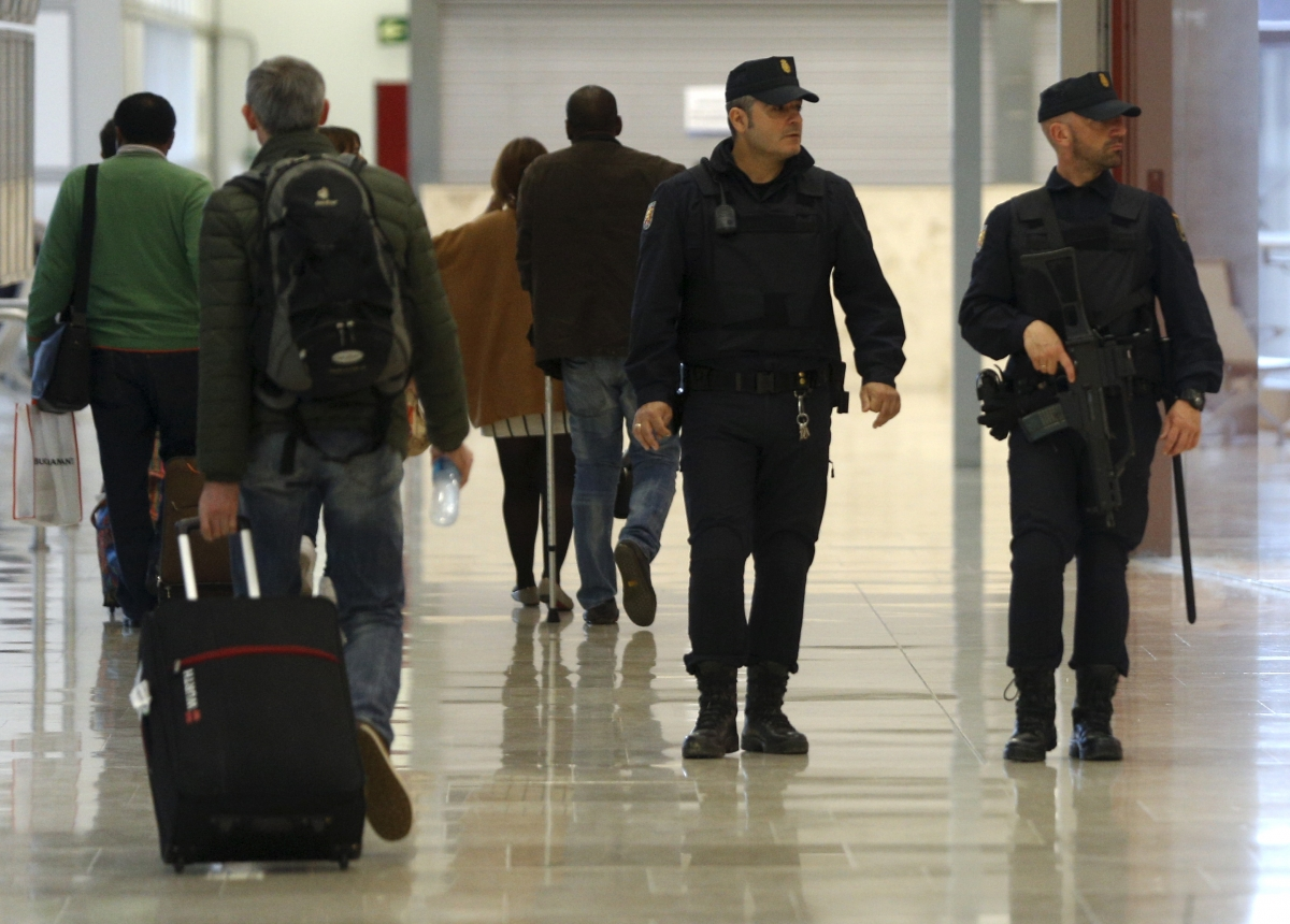 Spain police Isis suspect