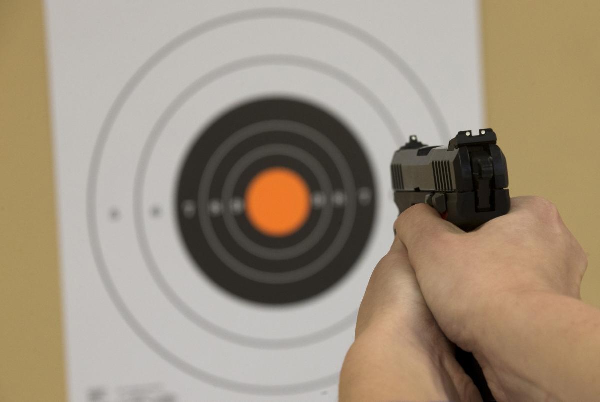 NC high school shooting range