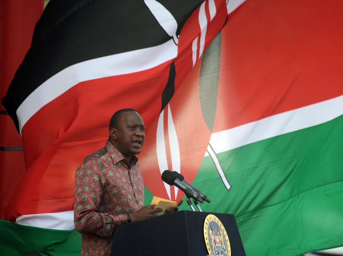 Kenya President Kenyatta and ICC