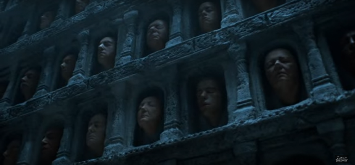 Hall of Faces Game of Thrones