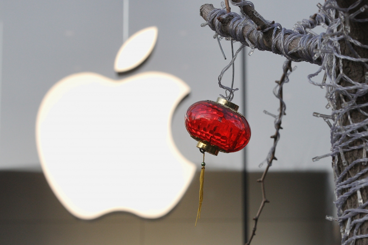Apple refused China for source code
