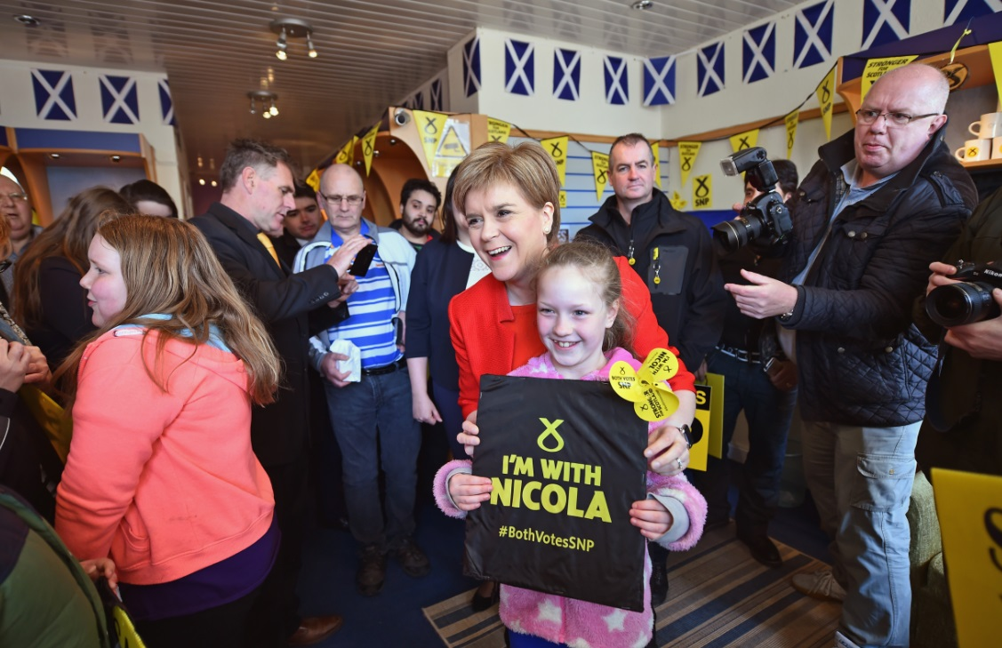 Nicola Sturgeon, SNP leader
