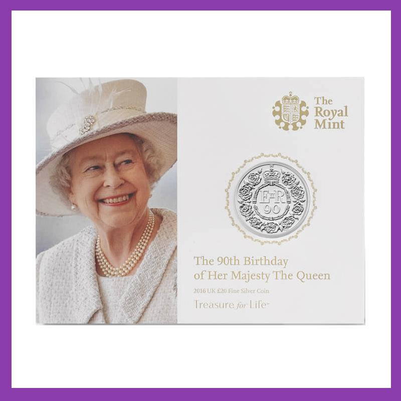 queen at 90 memorabilia