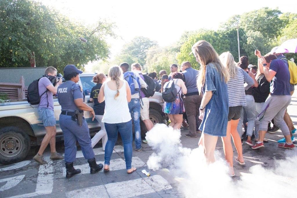 Rhodes University protest