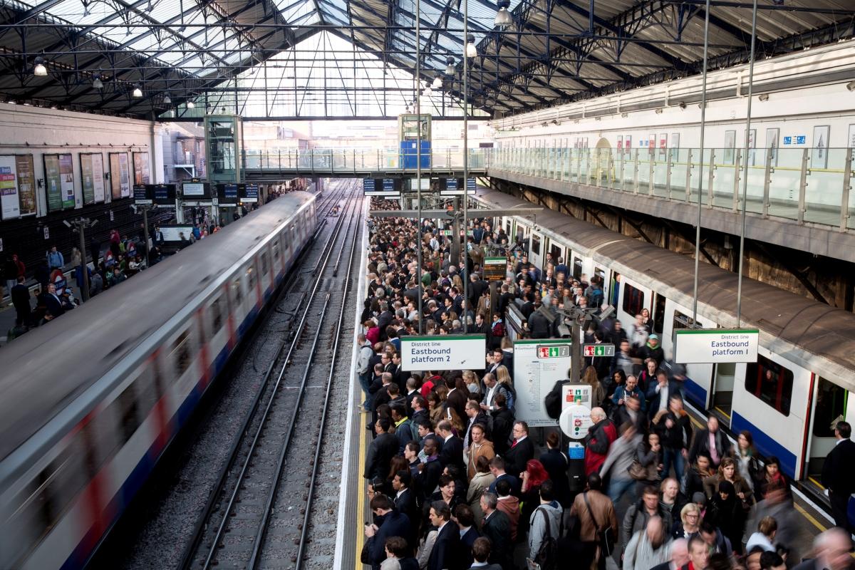 London tube commute