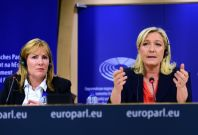 Janice Atkinson MEP with Marine Le Pen