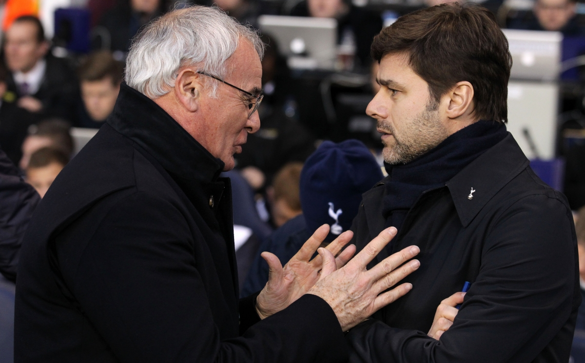Claudio Ranieri and Mauricio Pochettino